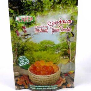 Gomme arabique en poudre 100% naturelle 150g | El Nasr